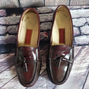 Cole Haan loafer leather with tassels Men's 10.5D